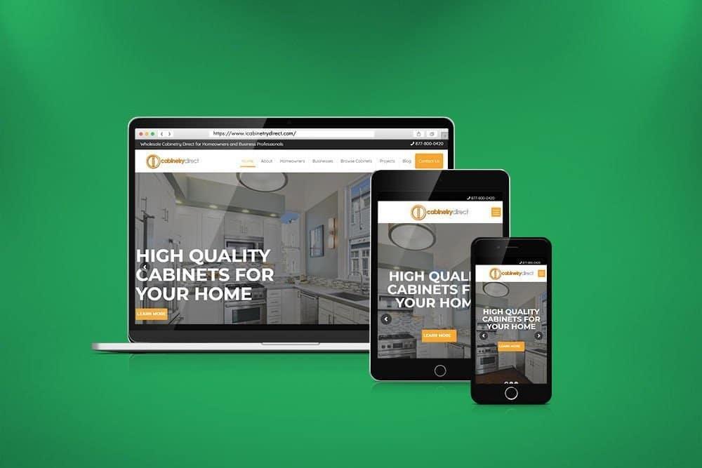 iCabinets WordPress Website