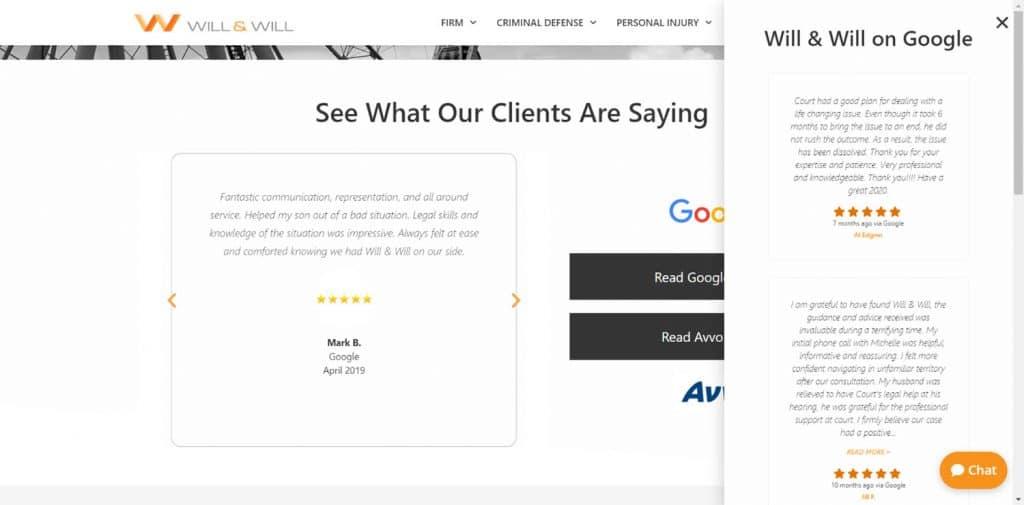 Will Defend - Attorney WordPress Website