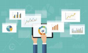 Call tracking analytics data charts
