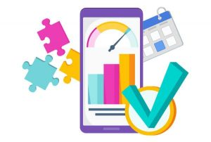Call Tracking Analytics Data Illustration