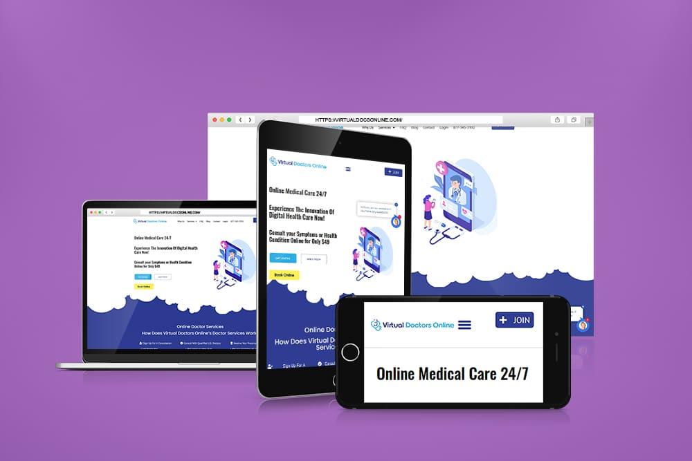 Telemedicine WordPress Website