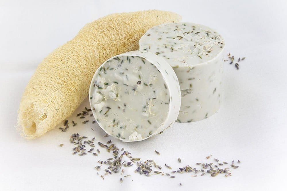 Product photography of soap