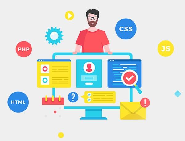 Modern web design methods