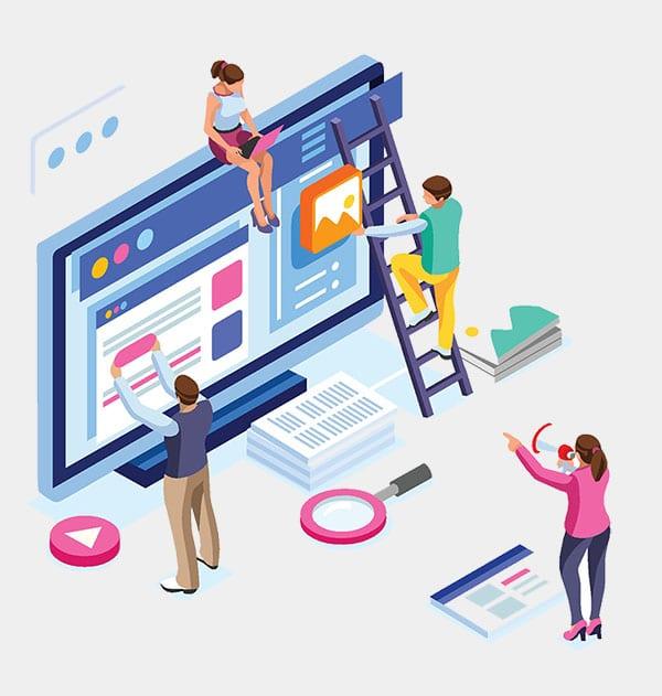 Organizing website content