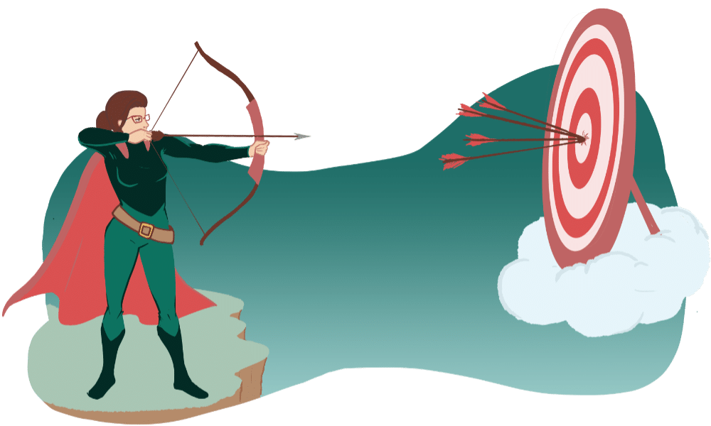 well targeted landing page design graphic