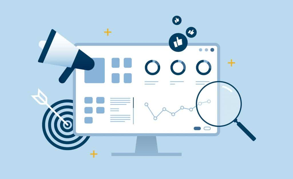 Website monitoring tools and reports