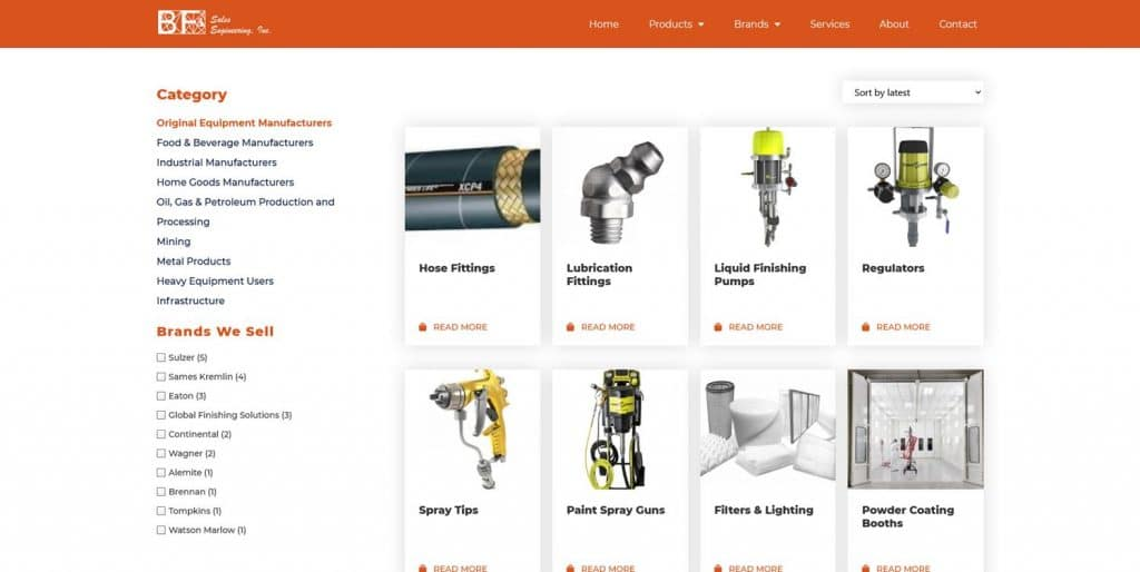B2B Website Shopping