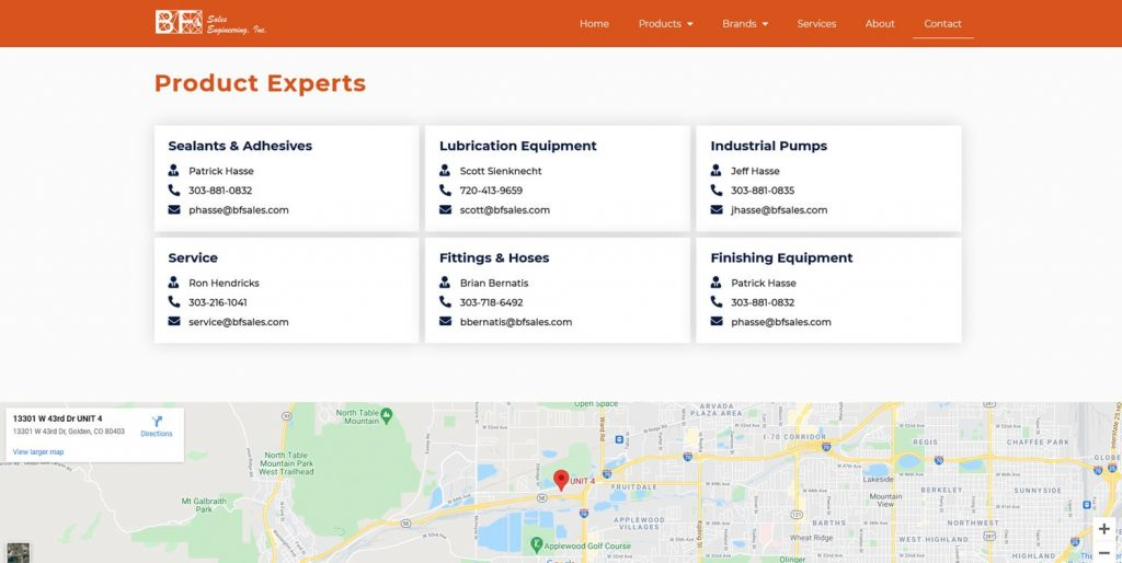 B2B Website Contact Directory
