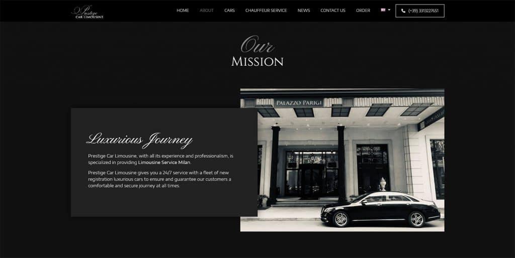 Car Limo Website