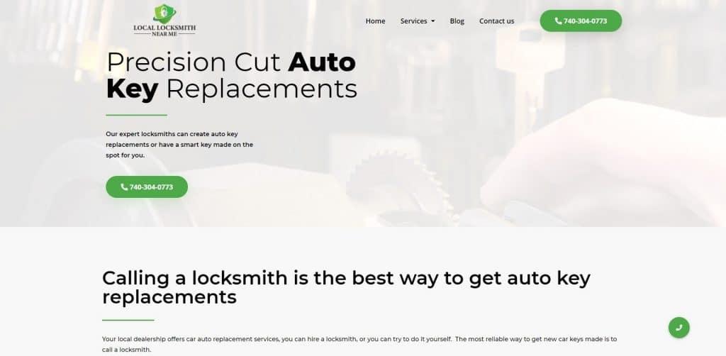 Locksmith Website