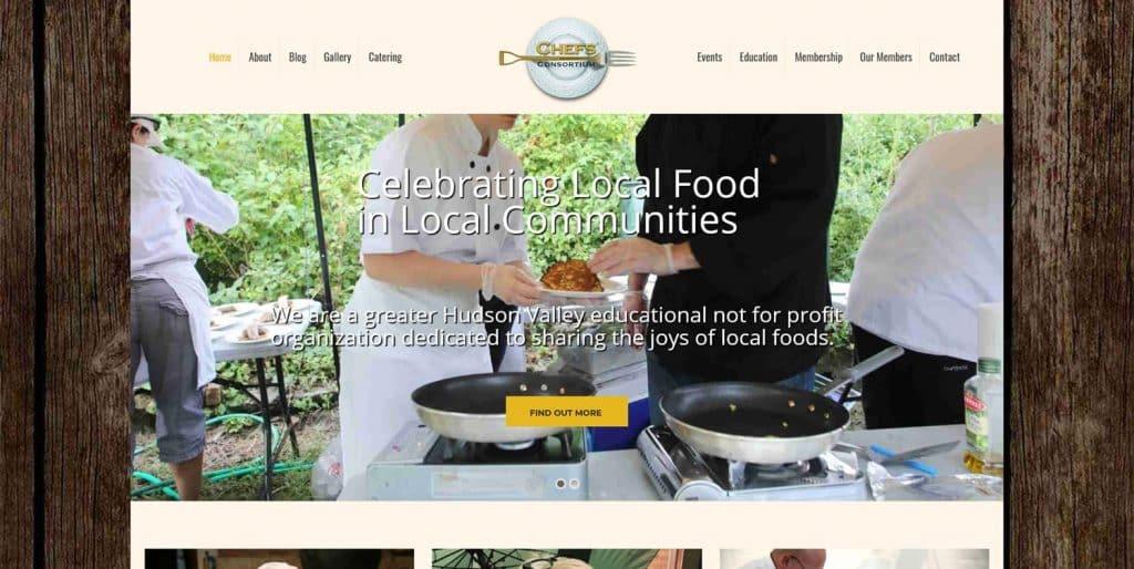 Chefs' Consortium Website