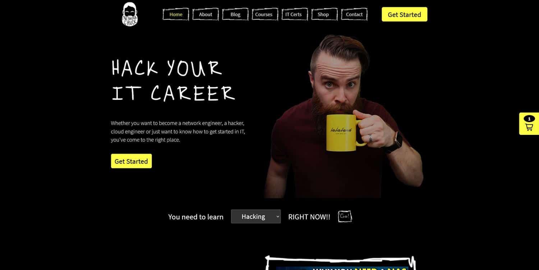 IT YouTube Website Design