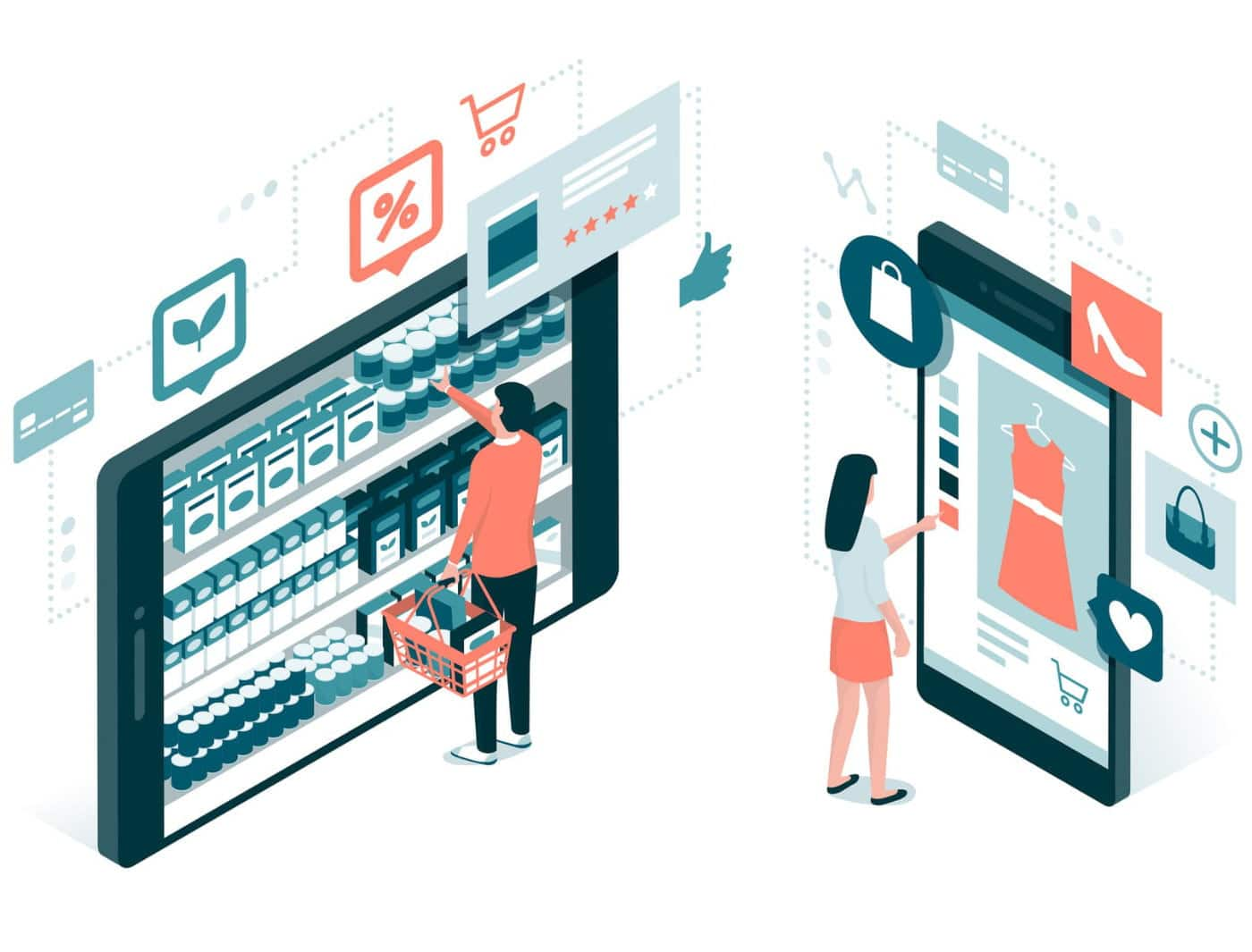Webstore shopping experience