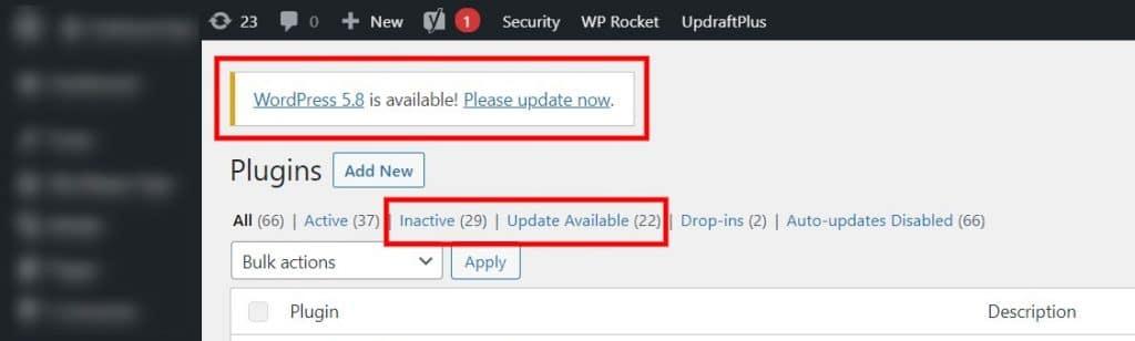 Update Your WordPress Plugins
