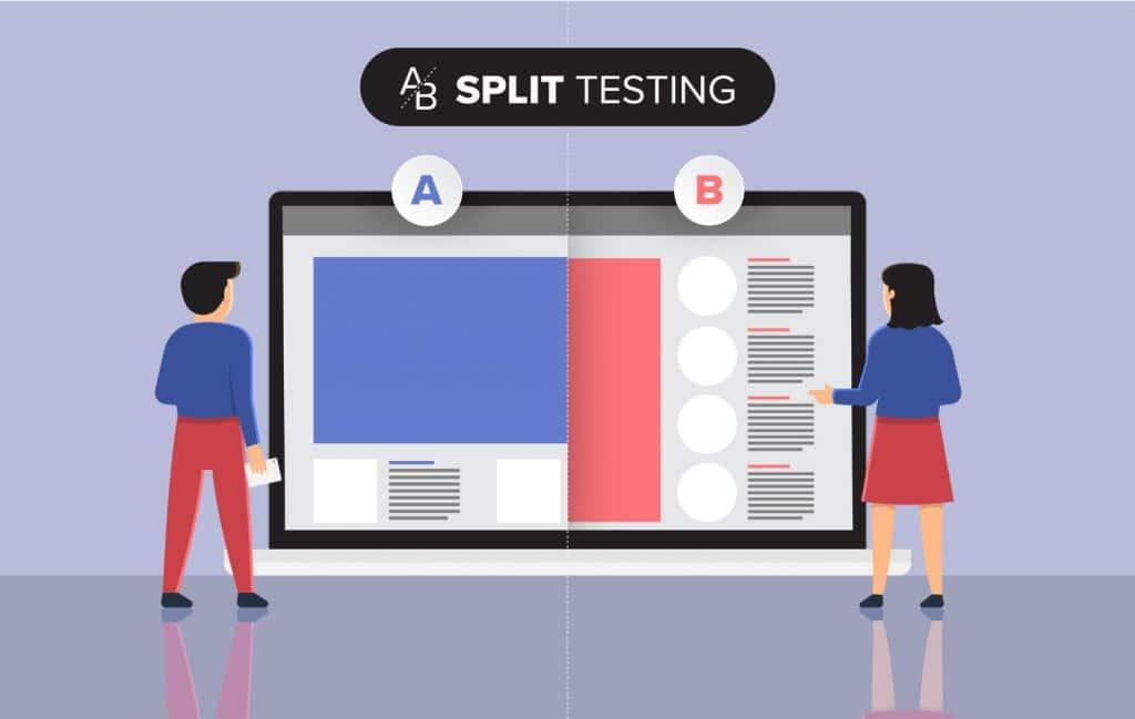 Split Testing Sample